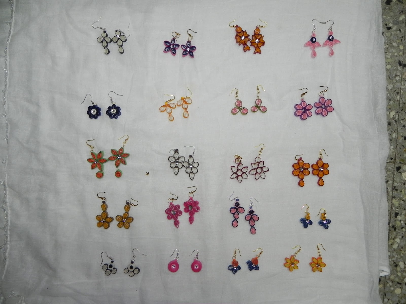 crafteffect: Paper quilling earrings