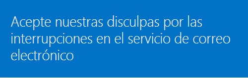 problemas correo outlook