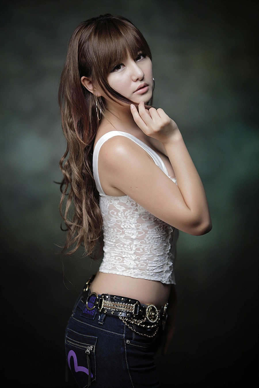 Skinny VS Curvy: ` spicy kOrean beauty ryu ji hye