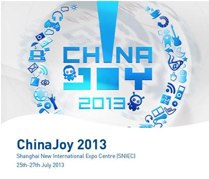 ChainaJoy 2013 ณ Shanghai New International Expo Center ประเทศจีน