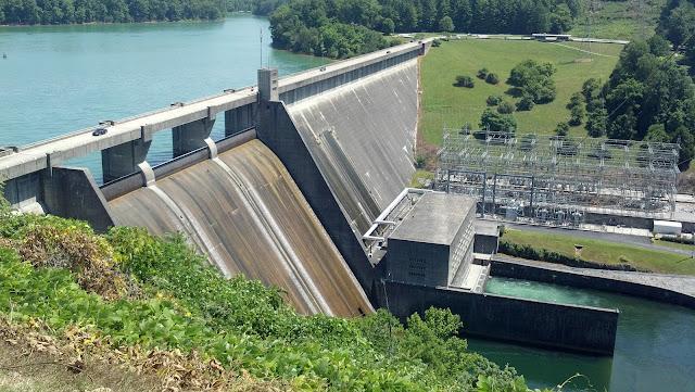 Norris Dam western overlook