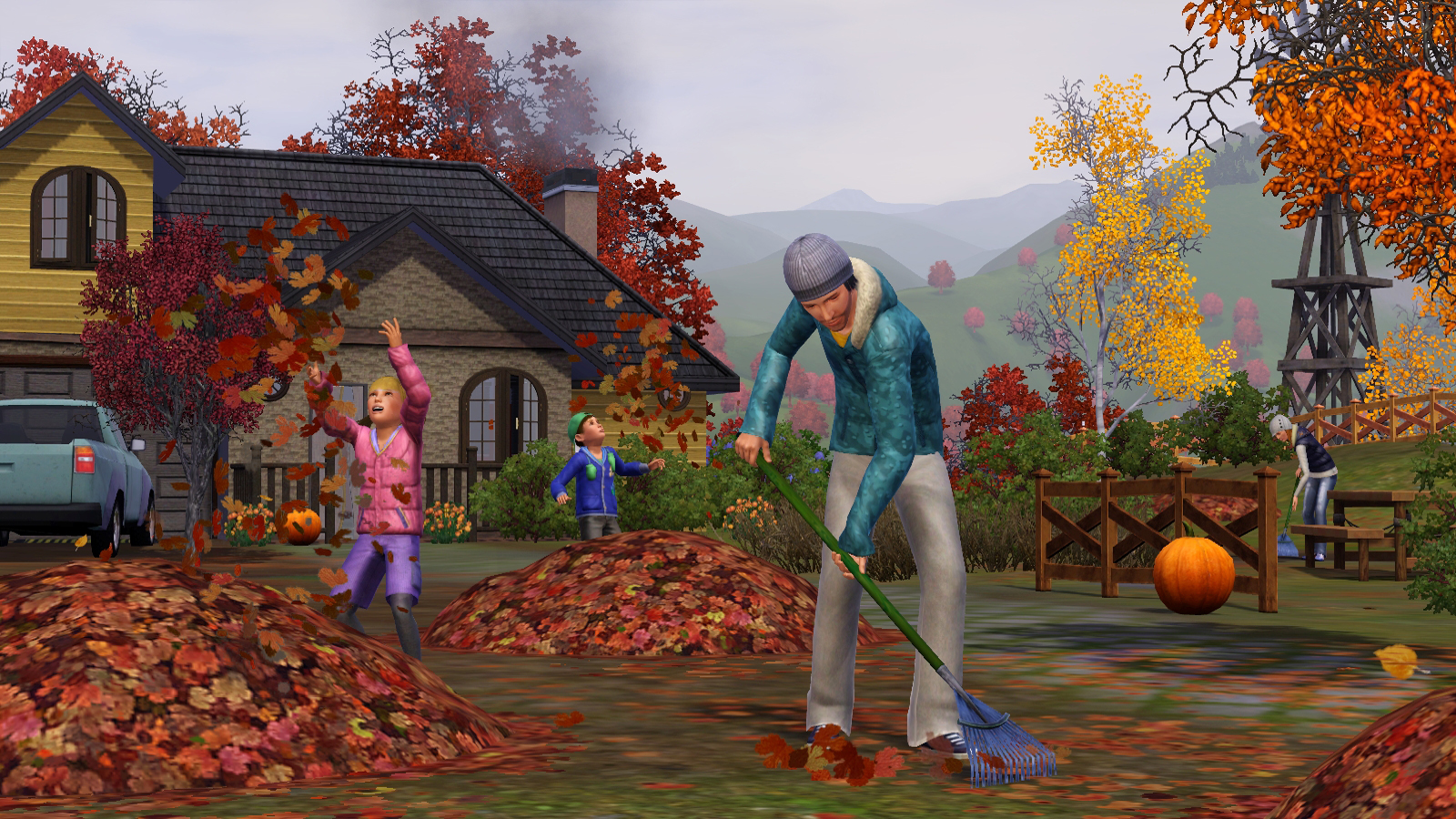 Sims 3 Seasons Outfits Winter in The Sims 3 Seasons
