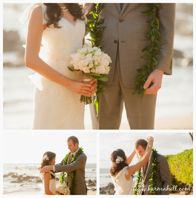 Hawaii Wedding Packages: Christy & Francis' Maui Wedding At Southside Beach By