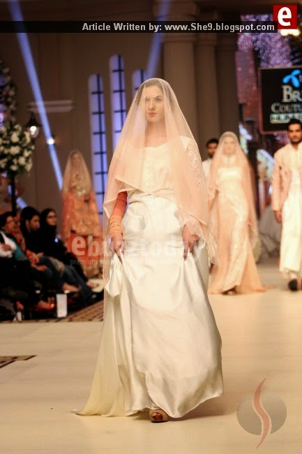 Telenor Bridal Week Couture Collection 2014 Day-1
