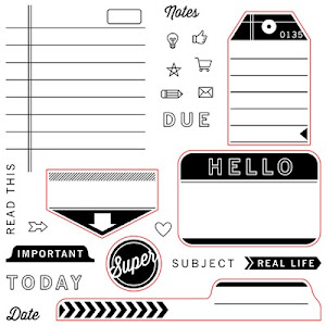 July Stamp of the Month - From The Notebook