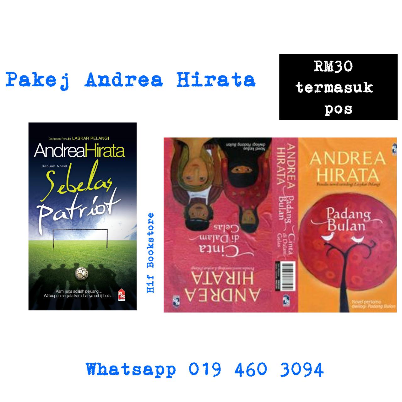 Pakej Andrea Hirata