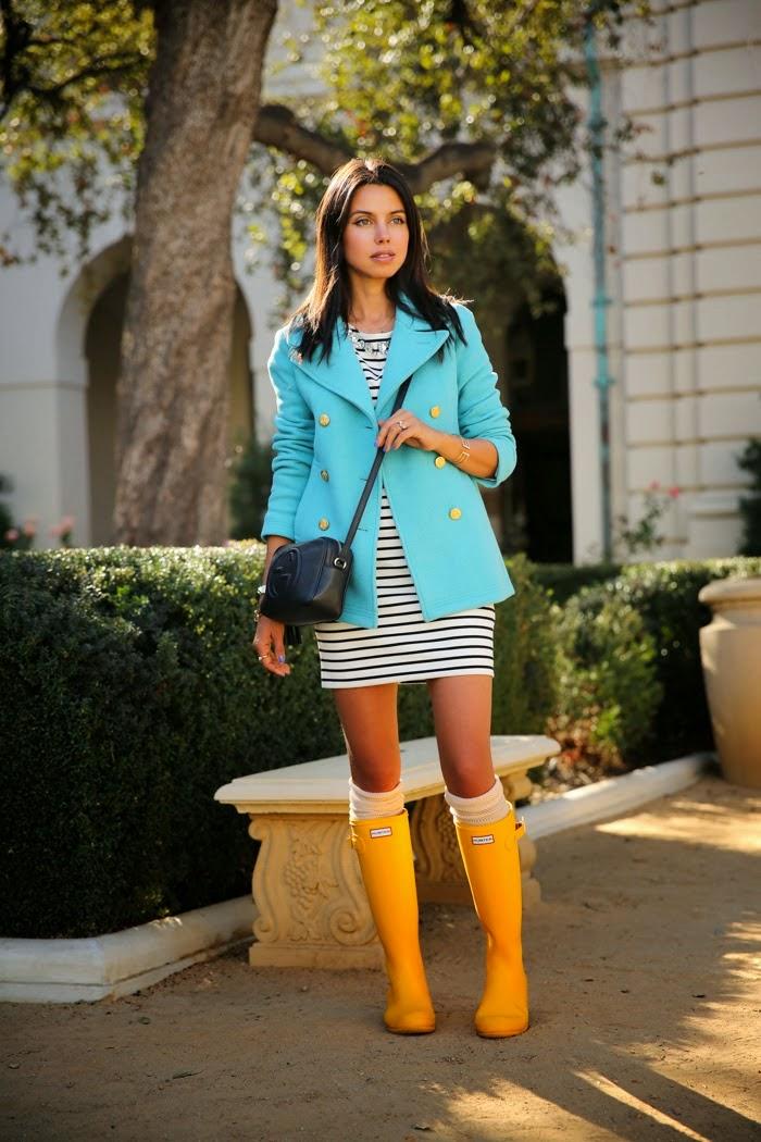 Cómo Vestir con Botas de Lluvia