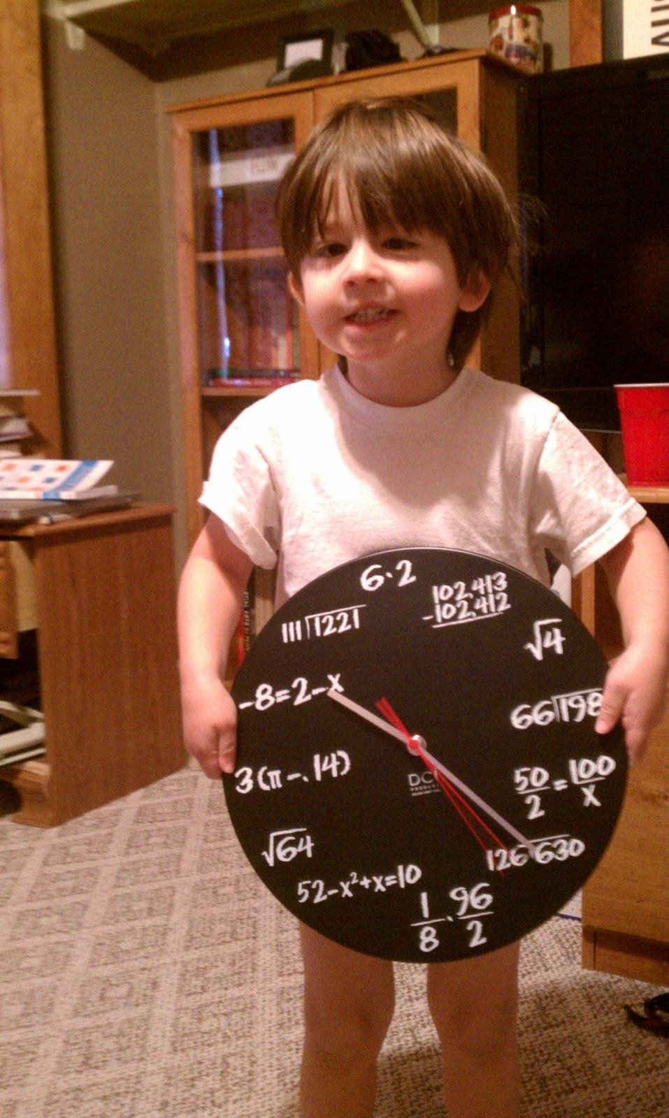 Hands On Math: Creating A Math Clock (Indirect Homework)