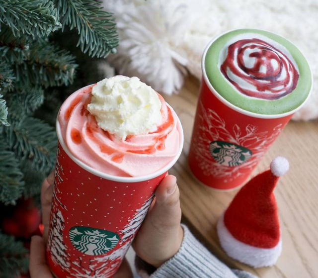 picture Starbucks Matcha Pink Drink review