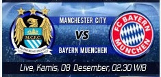Prediksi Manchester city vs Bayern Munchen