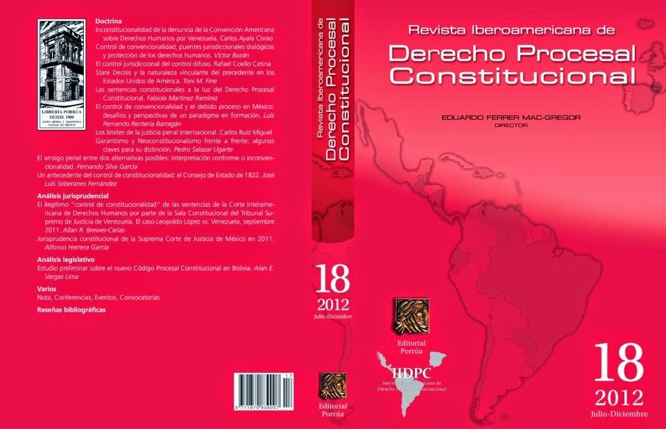 Estudio Preliminar del Nuevo Código Procesal Constitucional de Bolivia