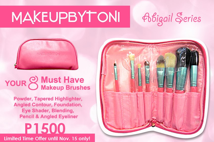 Makeupbytoni Brushes