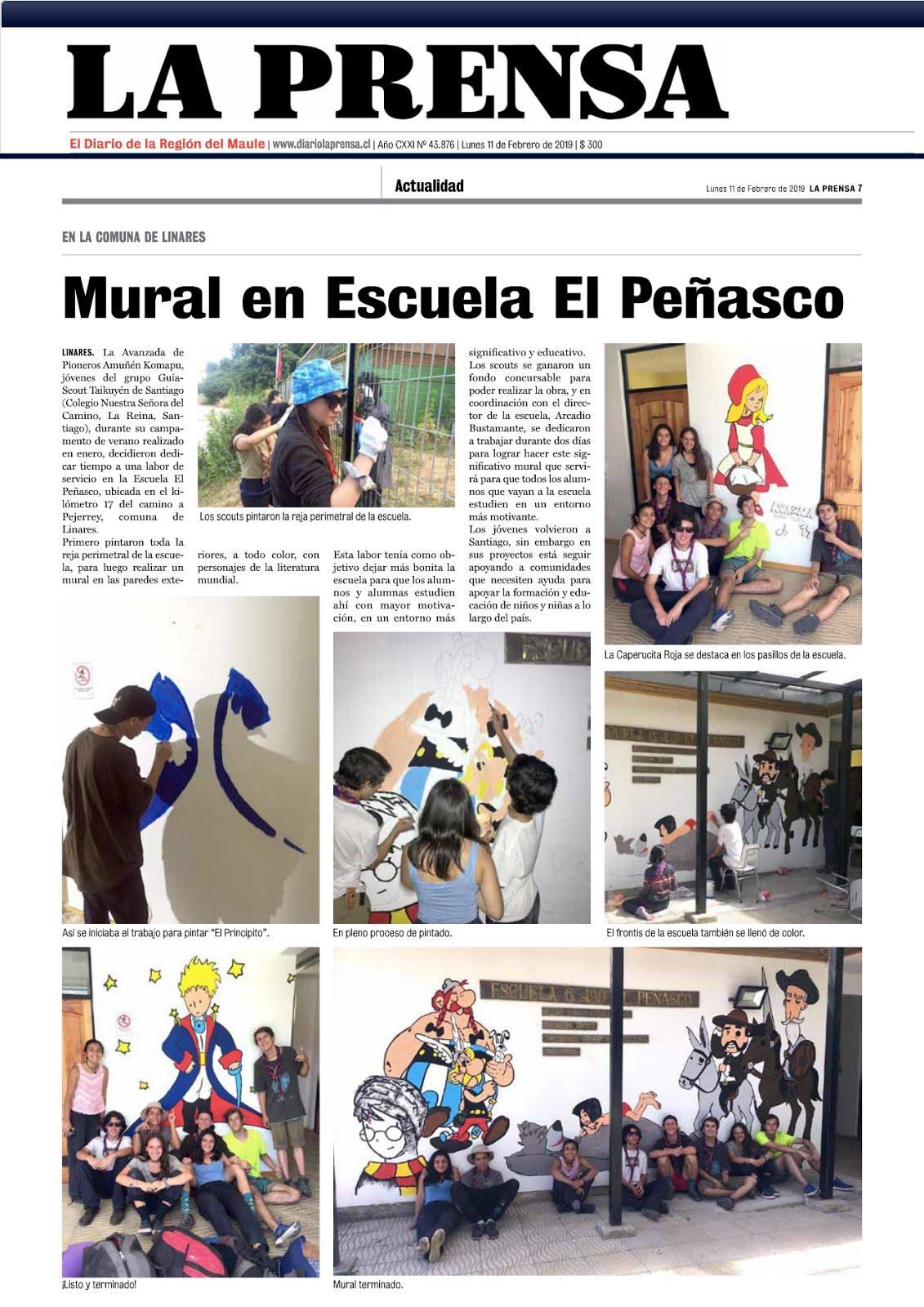 Taikuyén en La Prensa
