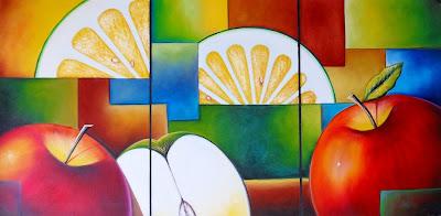 bodegon-moderno-manzanas