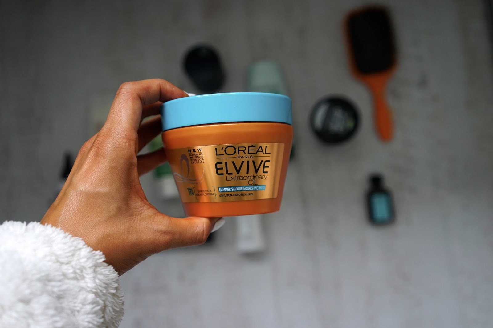 L'oreal elvive extraordinary hair mask
