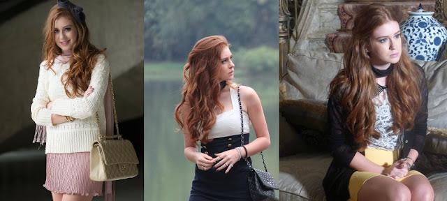 roupas da Nicole em Amor à Vida