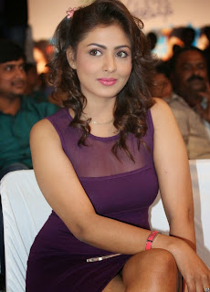Actress Model Madhu Shalini  Picture Gallery in Short Dress at Ladies and Gentleman Audio Launch  44.jpg