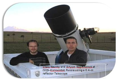 0.4 -m reflector telescope ISON- International Scientific Optical Network