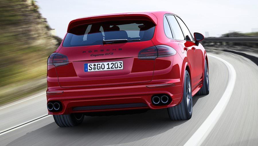 2015年モデルの新型「ポルシェ・カイエンGTS」