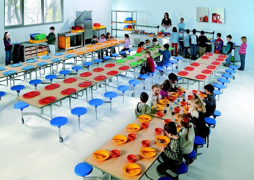 Infantil - Mesas Para Comedores Escolares - Feirt.com