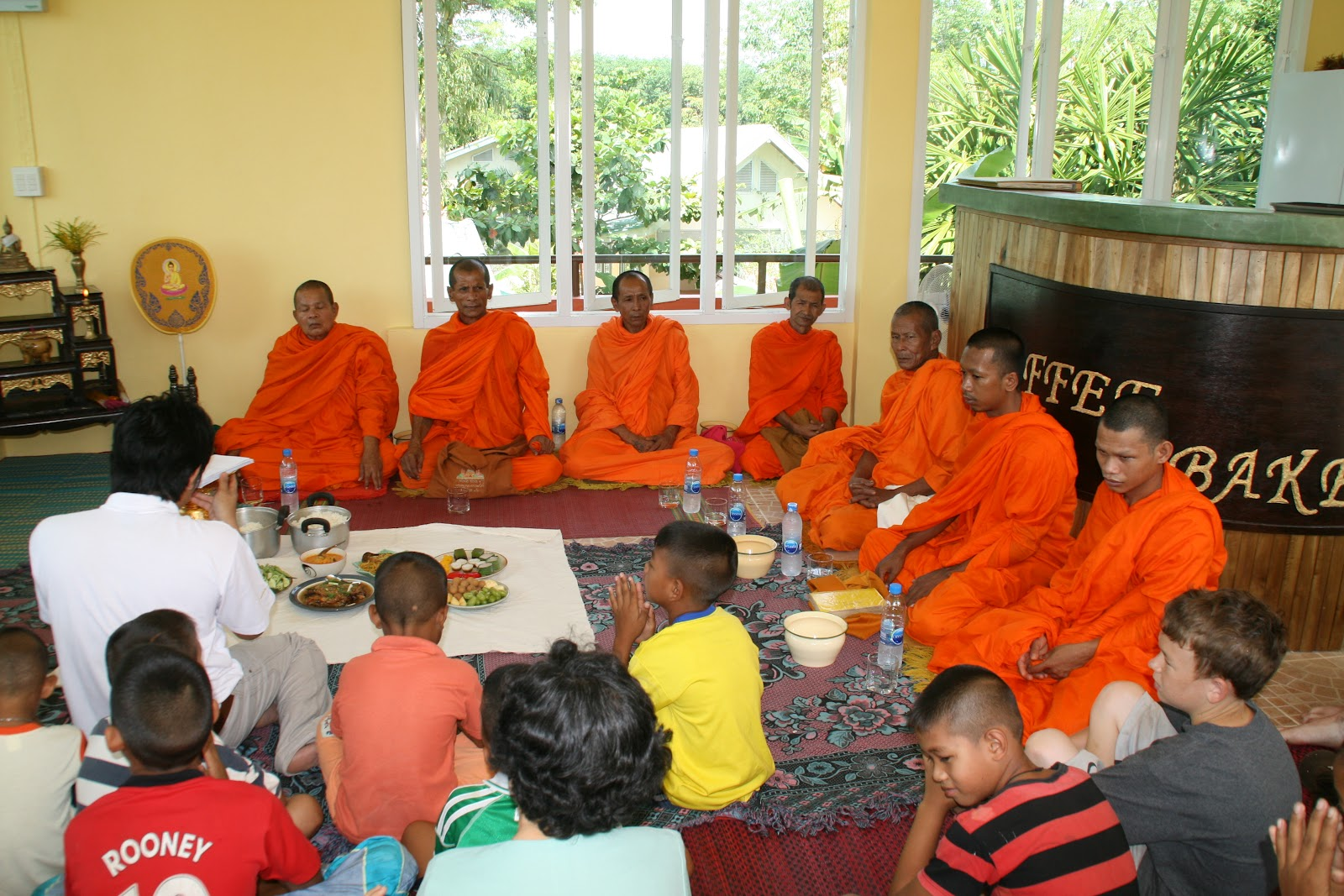 Monks dedicate new restaurant