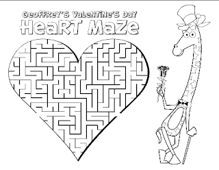Free Valentine's Day Activity Book