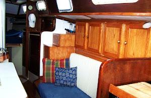 Starboard interior