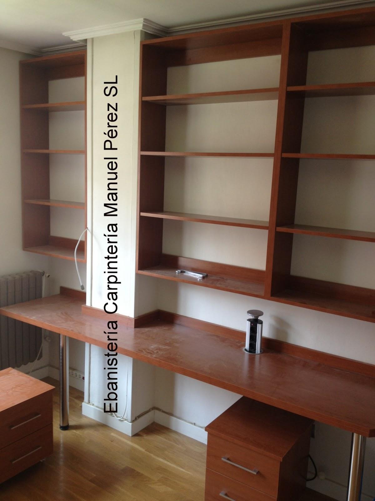 Ebanisteria carpinteria manuel perez zaragoza - Precio habitacion juvenil ...