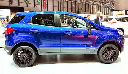 Tampilan Mobil Ford EcoSport Facelift Terbaru 2015
