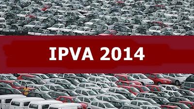Qual o valor do IPVA 2014 com desconto