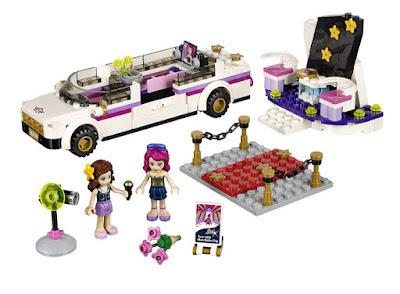 JUGUETES - LEGO Friends : Pop Star  41107 La Limusina | Limosina | Limosine | Limo  Producto Oficial 2015 | Piezas: 265 | Edad: 6-12 años  Comprar en Amazon