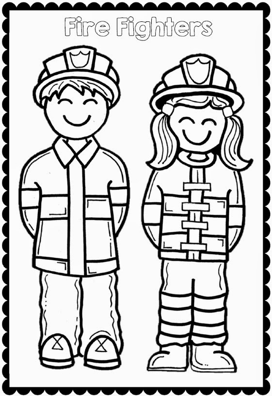 Hard Hats Coloring Pages