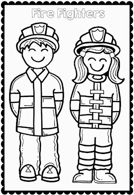 Free printable first grade coloring pages for Printable fire safety coloring pages