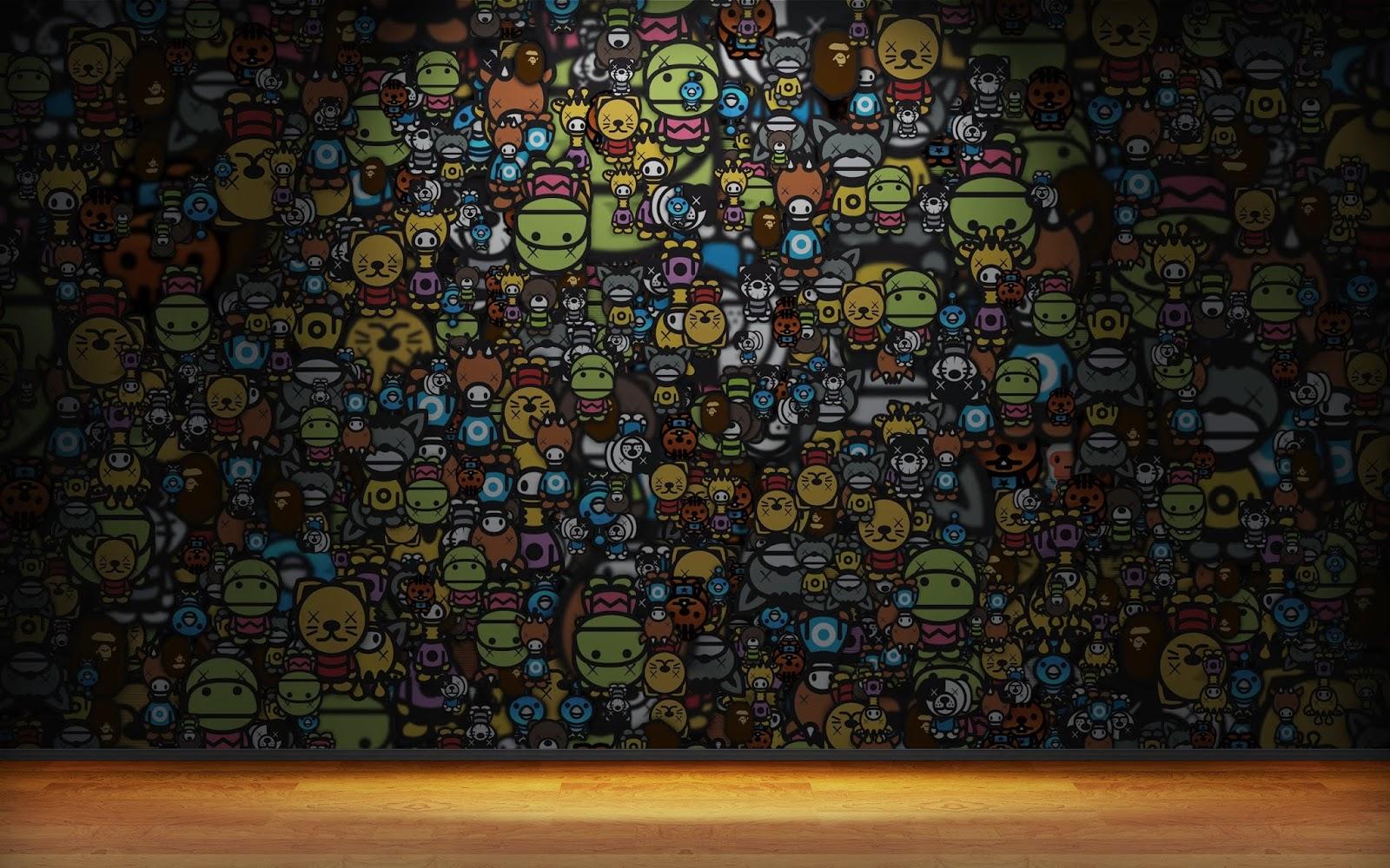 Fondo de Pantalla Abstracto Dibujos animados - imagenes