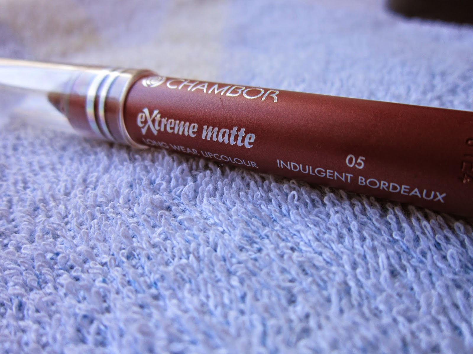 Chambor Extreme Matte Lip Colour - Indulgent Bordeaux