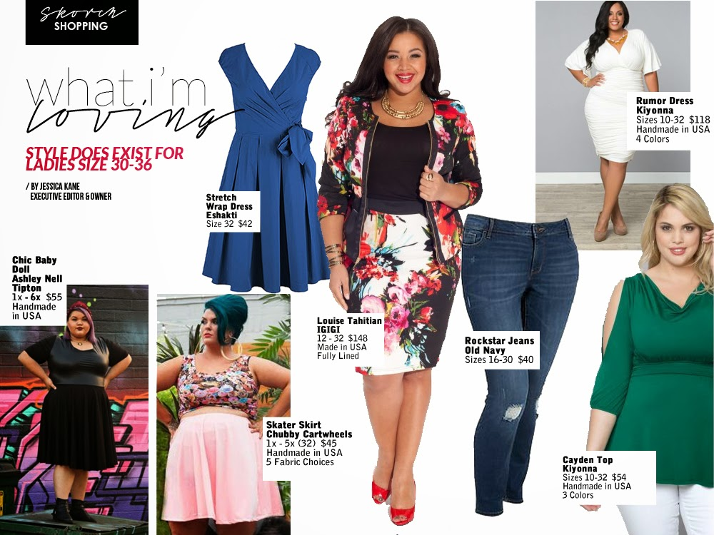 plus size fashion magazine super curvy shopping over size 28 30 32 blog fashion style