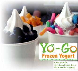 deal saver just 4 for 8 of yo go frozen yogurt norcal coupon gal. Black Bedroom Furniture Sets. Home Design Ideas