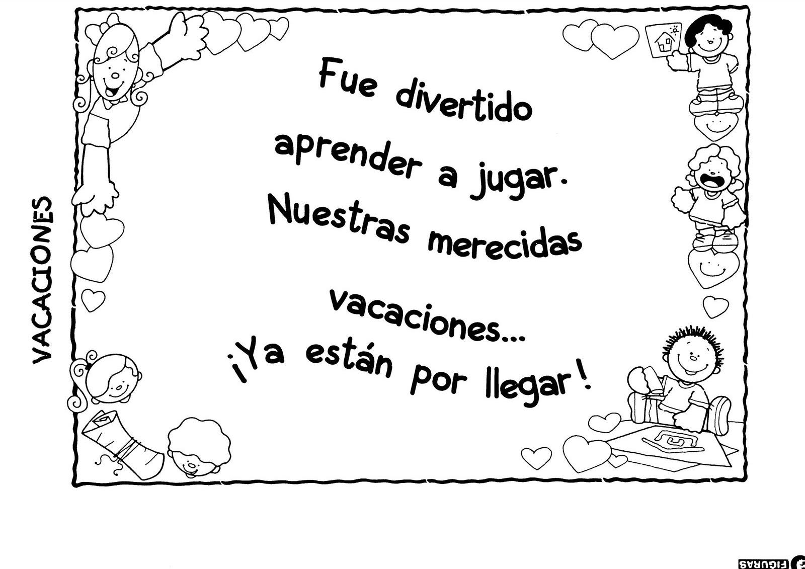 Famoso Jardín De Infantes Colorear Páginas Verano Modelo - Dibujos ...