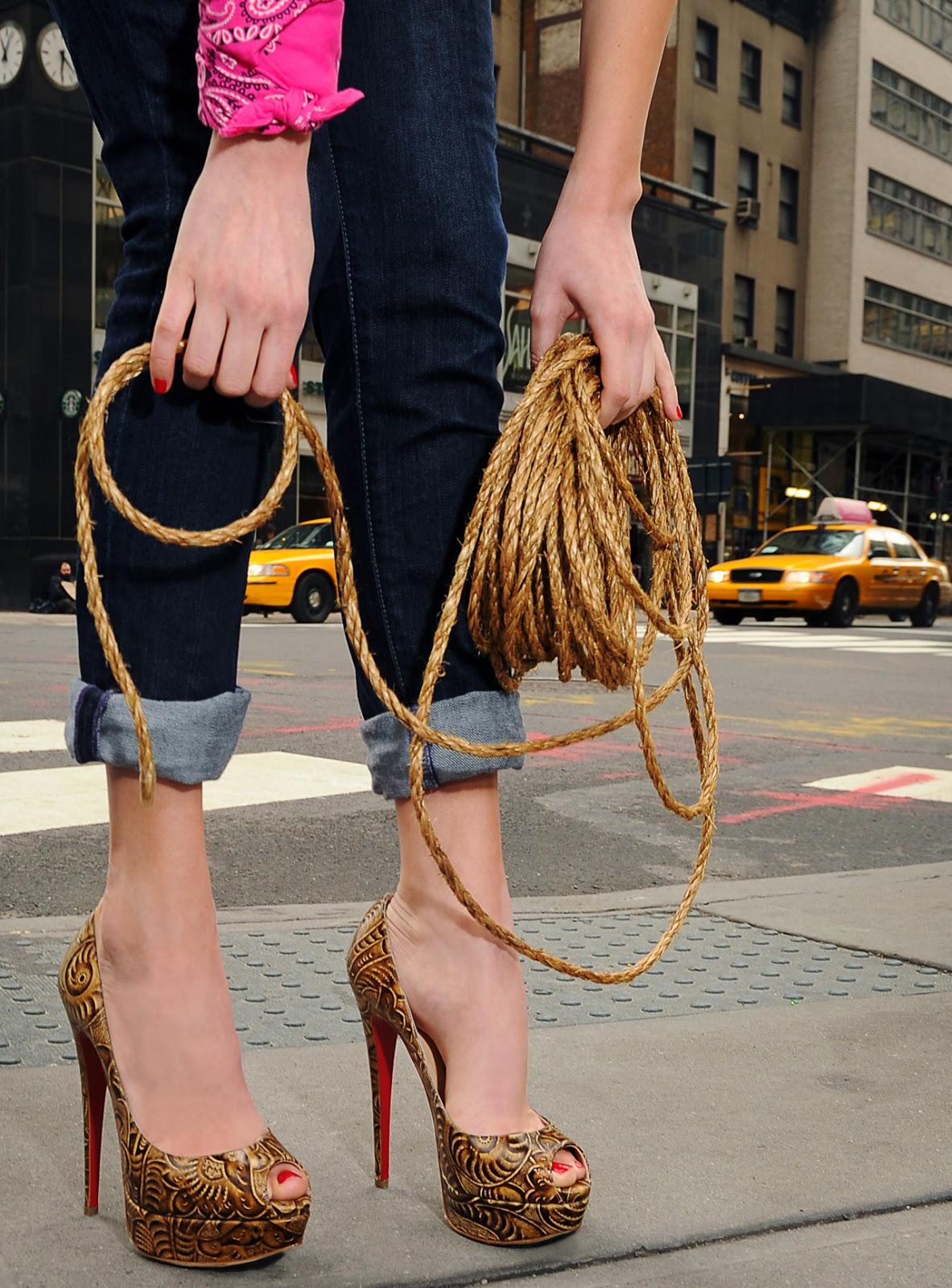 Fantásticos Zapatos de Fiesta