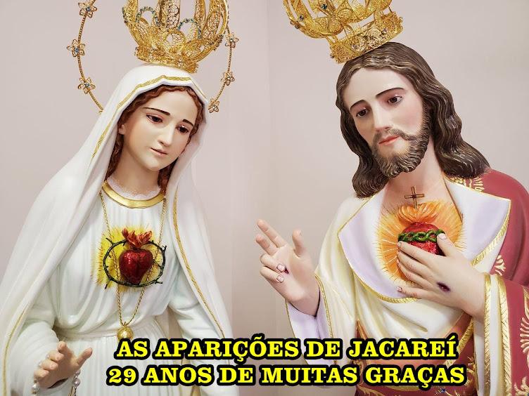 AS APARIÇÕES DE JACAREÍ-29 ANOS DE GRAÇAS! BLOG  OFICIAL DO VIDENTE MARCOS TADEU-BRASIL