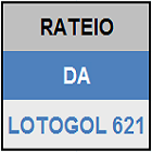 LOTOGOL 621 - RATEIO OFICIAL - MINI