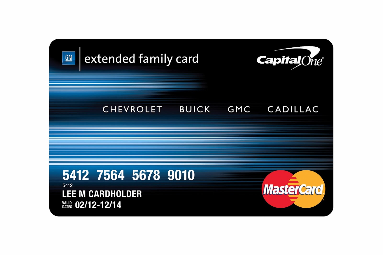 The new GM Card from Capital e