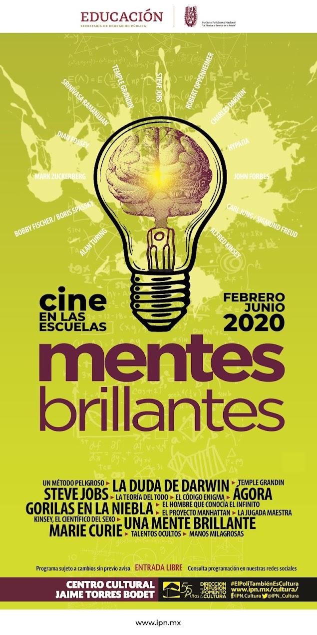 CINE EN LAS ESCUELAS FEBRERO - JUNIO 2020