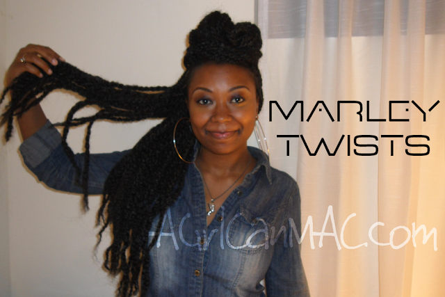 My Hair // Marley Twists