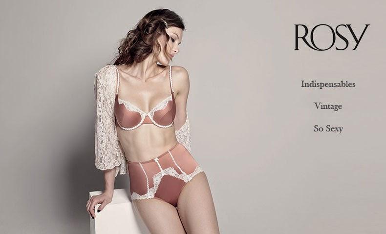 Secciones de esta oferta de lencería Rosy del mes de septiembre 2014