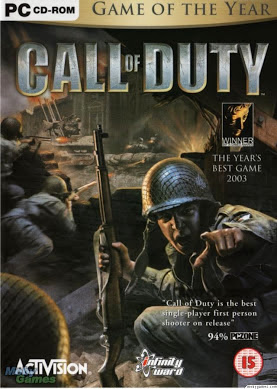 Call of Duty Highly Compressed PC Game Cover