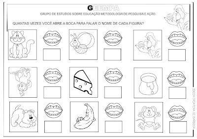 Atividades Alfabetização O Sanduiche da Dona Maricota GEEMPA