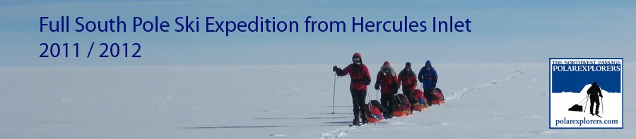 Full South Pole Ski Expedition 2012