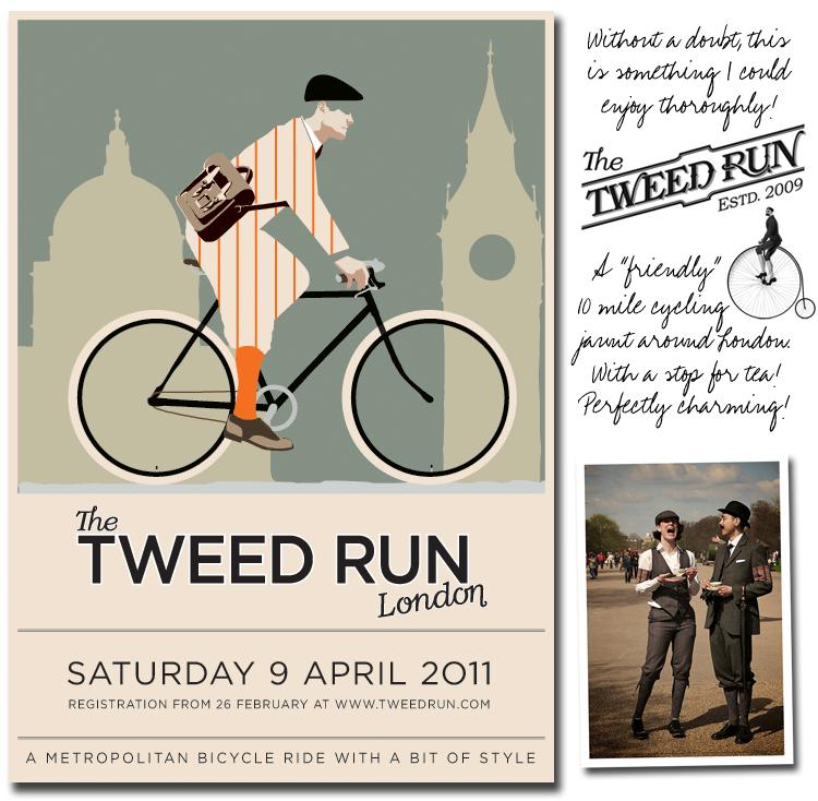 The Tweed Run 2011 - London