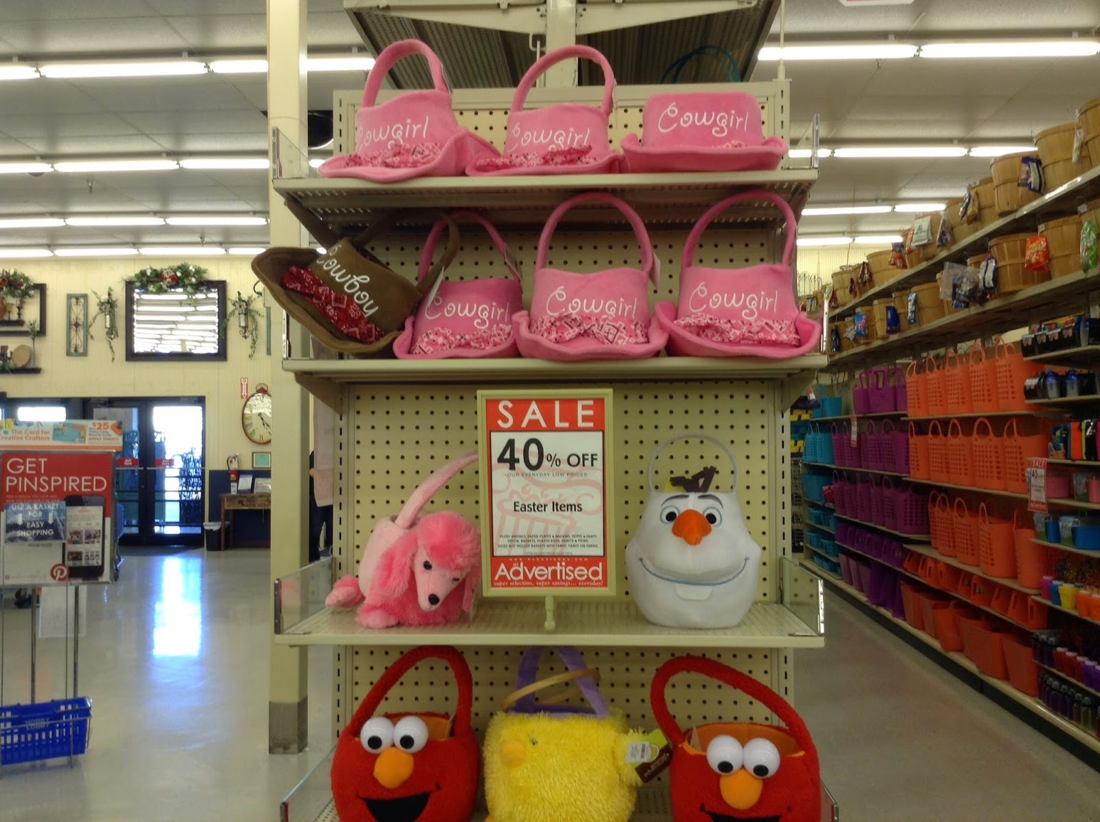 Hobby lobby easter baskets bellaitaliaterneuzen updated negle Choice Image